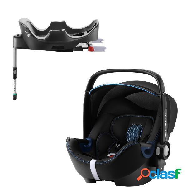Seggiolino auto britax romer baby-safe 2 i-size cool flow blue+base flex