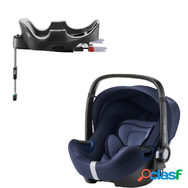 Seggiolino auto britax romer baby-safe 2 i-size moonlight blue+base flex