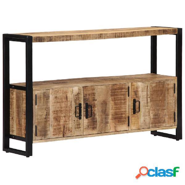 Vidaxl armadietto 120x30x75 cm in legno massello di mango