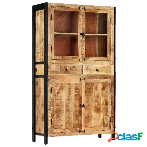 Vidaxl credenza 100x40x175 cm in legno massello di mango