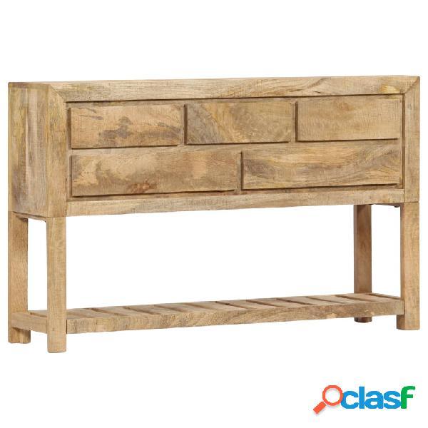 Vidaxl credenza 120x30x75 cm legno massello di mango
