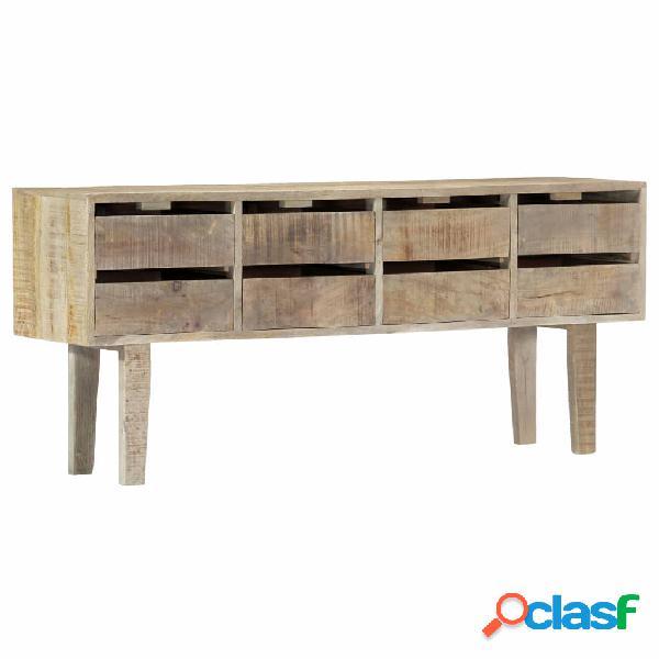 Vidaxl credenza 140x30x60 cm in legno massello di mango