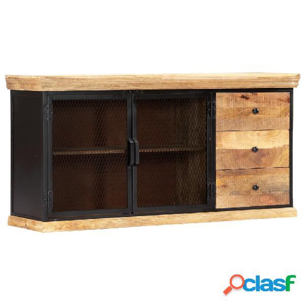 Vidaxl credenza 150x40x75 cm in legno massello di mango