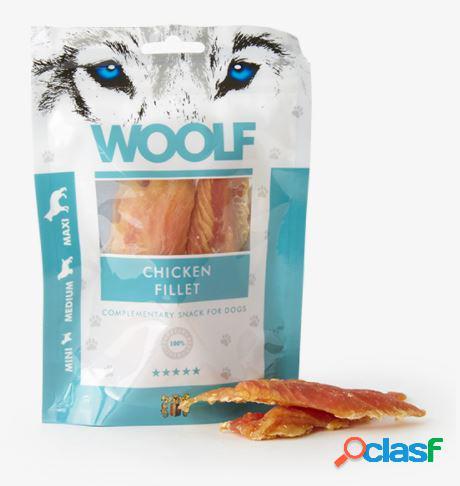 Woolf snack cani monoproteico filetto di pollo 100 gr (chicken fillet)