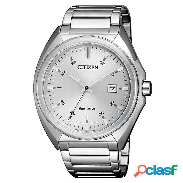 Orologio citizen solo tempo in acciaio eco drive - metropolitan - aw1570-87a
