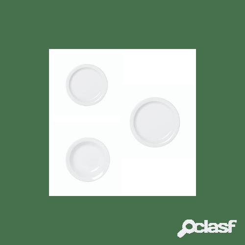 Servizio piatti in porcellana amerika, 18 pezzi