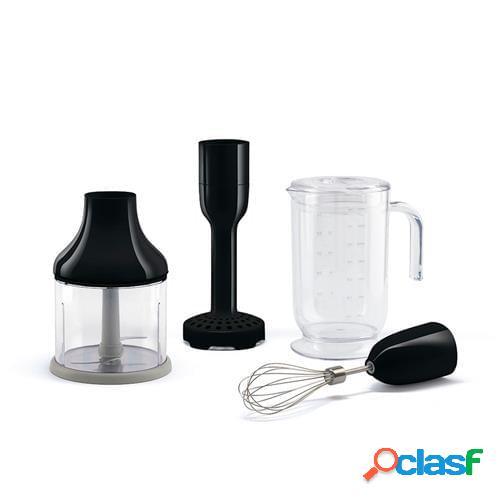 Set 4 accessori per frullatore immersione smeg nero
