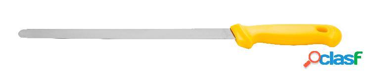 Coltello per prosciutto crudo professionale in inox con lama di lunghezza 28 cm