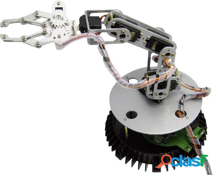 Arexx braccio robotico in kit da montare ra1-pro kit da costruire ra1-pro