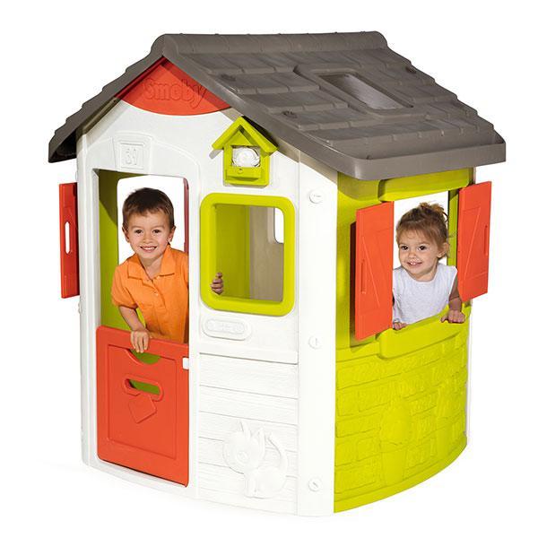 Casetta per bambini personalizzabile jura lodge ii di smoby