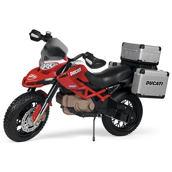 Ducati enduro moto elettrica 12v peg perego