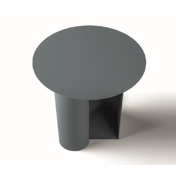 Tavolino rotondo di design mirò, santalucia mobili