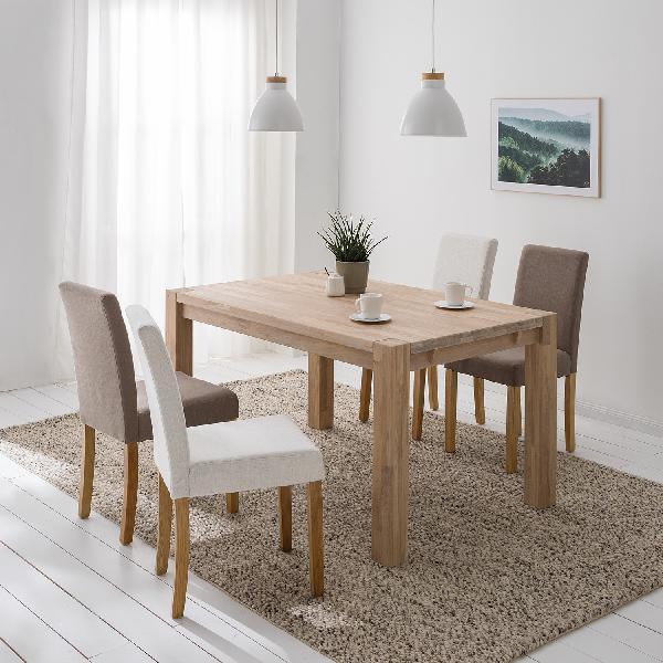 Tavolo pranzo in legno massello richwood – acquista online
