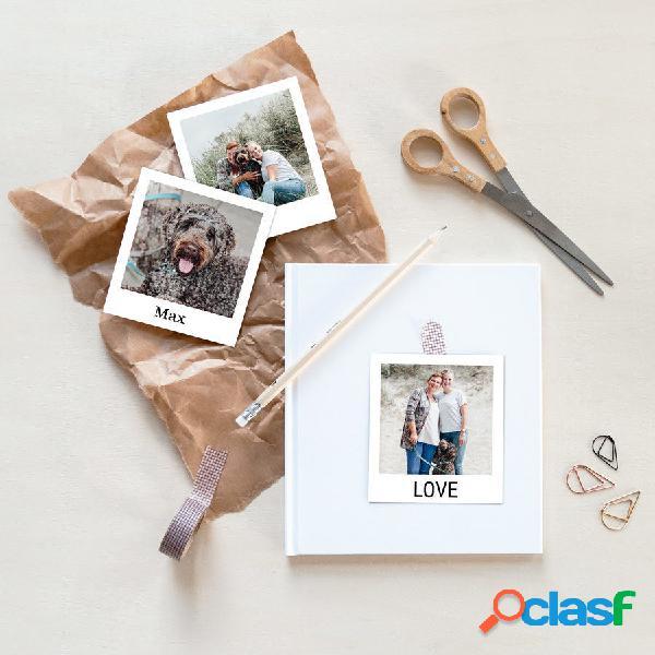 Set aggiuntivo di stampe fotografiche - stile polaroid