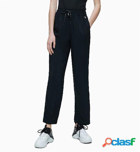 Calvin klein jeans pantaloni donna nero
