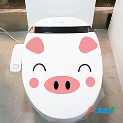 Animali cartoon wall stickers camera da letto soggiorno rimovibile pvc decorazione della casa wall decal 1pc miniinthebox