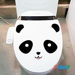 Animali adesivi murali bagno wc rimovibile pvc decorazione della casa wall decal 1pc miniinthebox