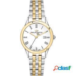 Philip watch r8253211503 donna 31mm acciaio acciaio silver silver oro automatico 5atm - philip watch - r8253211503-c