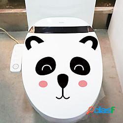 Animali cartoon wall stickers camera da letto soggiorno rimovibile pvc decorazione della casa wall decal 1pc lightinthebox
