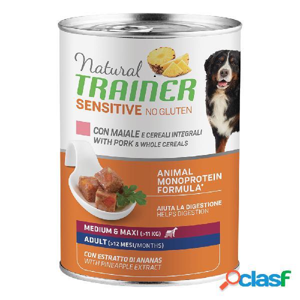Natural trainer dog sensitive no gluten medium&maxi adult con...