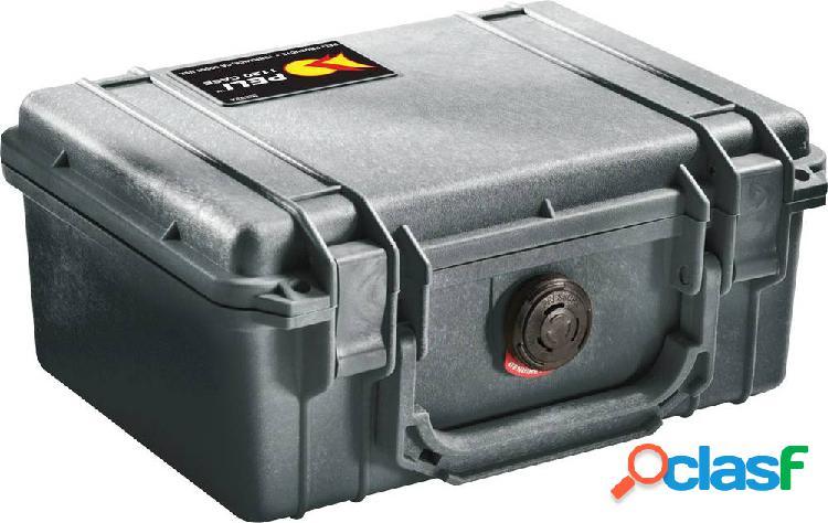 Peli valigetta rigida per fotocamera misura interna (lxaxp)=18.94 x 8.45 x 12.59 cm impermeabile