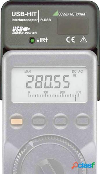 Interfaccia gossen metrawatt z216a usb-hit adattatore di interfaccia hit usb 1 pz.