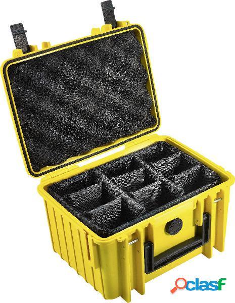 B & w outdoor.cases typ 2000 valigetta rigida per fotocamera impermeabile