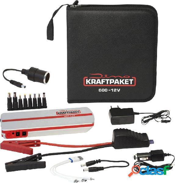 Sistema di accensione rapido dino kraftpaket 136102 corrente davviamento ausiliaria (12 v)=300 a