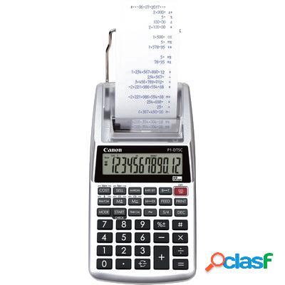 Calcolatrice scrivente canon p1-dtsc ii 12 cifre a batteria