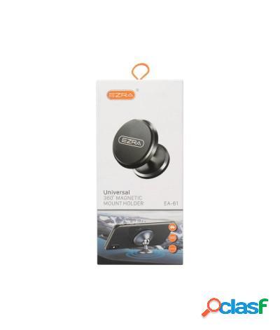 Supporto porta smartphone magnetico orientabile 360 ezra