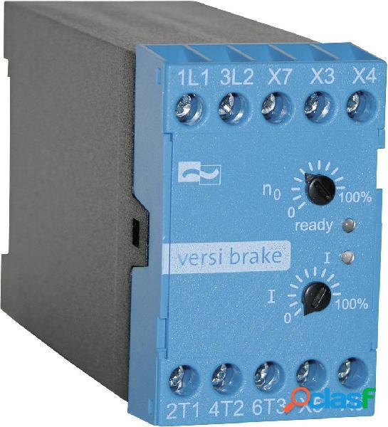 Dispositivo di frenatura peter electronic potenza motore a 230 v 1.1 kw 400 v/ac corrente nominale 6 a vb 400-6l
