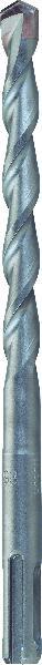 Bosch accessories 2609255512 acciaio punta perforatrice 8 mm lunghezza totale 110 mm sds-plus 1 pz.