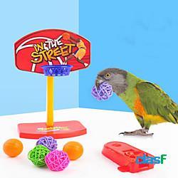 Giocattolo interattivo prodotti per uccelli 1 pc adatto agli animali plastica regalo giocattolo per animali domestici giocattoli per animali miniinthebox
