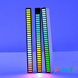 Luce notturna intelligente rgb controllo del suono ritmo luce decorazione luce tocco lampada luce ambientale luce notturna led induzione intelligente luci led decorazione usb miniinthebox