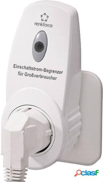 Renkforce 622412 limitatore di corrente in transitorio per grandi dispositivi bianco ip20