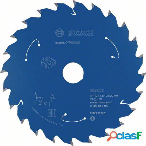 Bosch accessories 2608644499 lama circolare 140 x 20 mm numero di denti: 24 1 pz.