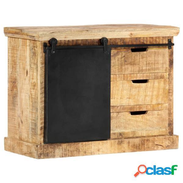 Vidaxl credenza 80x30x60 cm in legno massello di mango