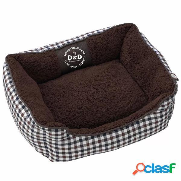 D&d cuccia per cani sweet checker 80x60x24 cm 671/438091