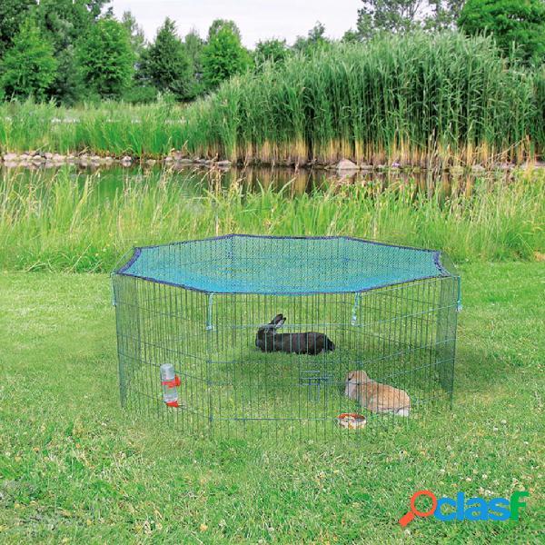 Trixie recinto animali con rete protettiva 60x57 cm verde 62411