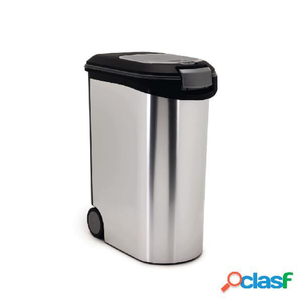 Curver contenitore di cibo per animali 20 kg 54 l argento