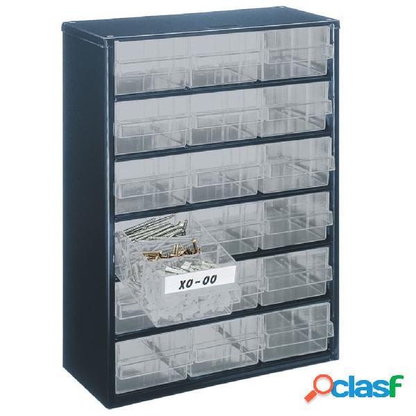 Raaco 137478 mobile 918-02 con 18 cassetti