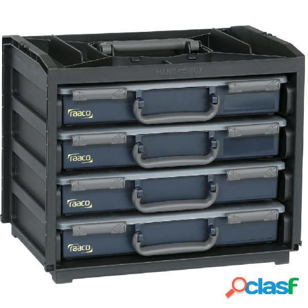 Raaco 136242 scatola di assortimento comoda 4 con assortimenti 55