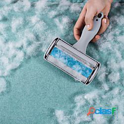 Prodotti per cani prodotti per gatti toelettatura spazzola per toelettatura animali domestici rullo per rimuovere i peli di cane plastica rifornimento pulito del cane pet hair remover facile