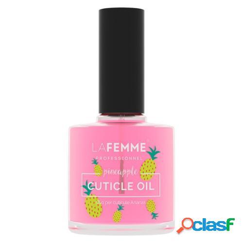 Olio cuticole ananas ricostruzione unghie manicure - la femme - (15ml)