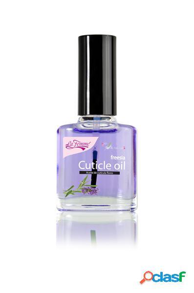 Olio cuticole fiori ricostruzione unghie manicure - la femme - 15ml