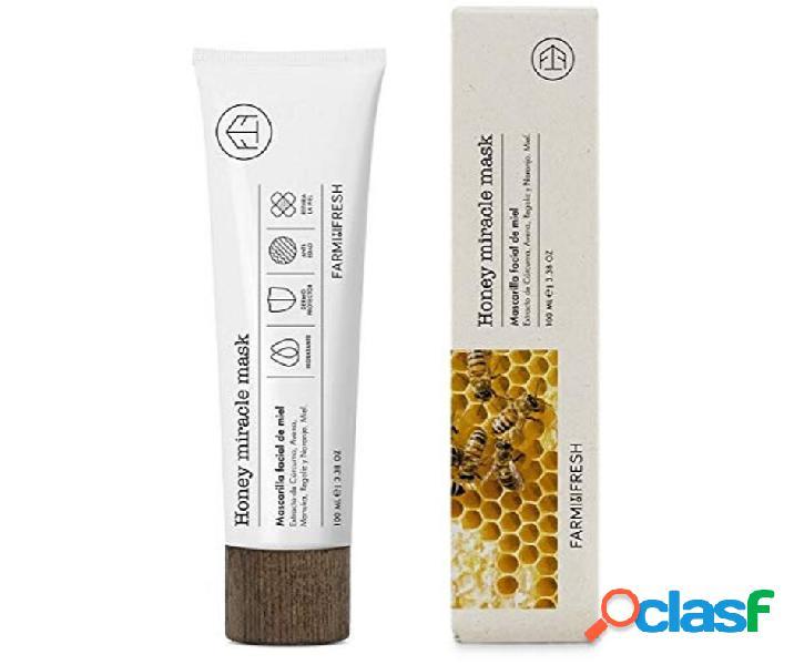 Farm to fresh honey miracle mask