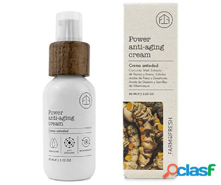 Farm to fresh power anti-aging cream