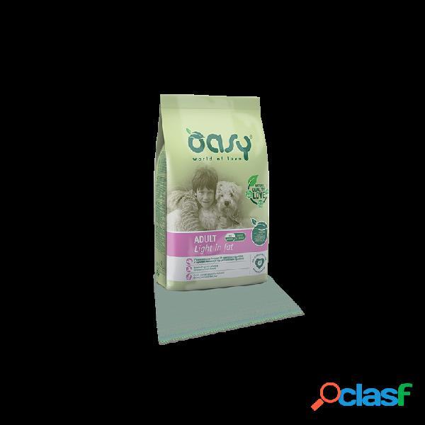 Oasy - oasy adult light in fat per cani sacco da 12 kg
