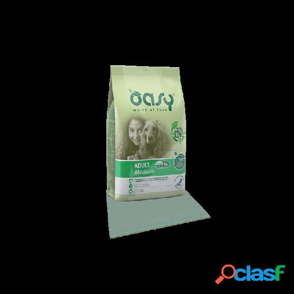 Oasy - oasy adult medium per cani sacco da 12 kg
