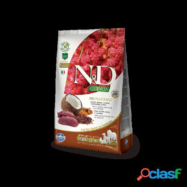 Farmina n&d - farmina n&d skin e coat adult con cervo e quinoa per cani sacco da 2,5 kg